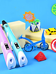 cheap -Drawing Toy 3D Printing Pen Creative Plastic Shell Painting USB Charging Output Low Temperature Educational Toys Child's Adults' Women's Boys and Girls for Birthday Gifts or Party Favors