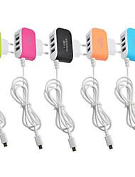 Недорогие -Зарядное устройство USB LITBest 3Ujiaxian 3 Настольная зарядная станция обожаемый / С кабелями зарядного устройства USB Адаптер зарядки