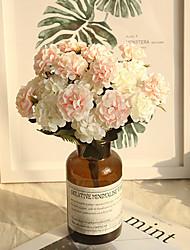 Недорогие -30см имитация мяча маленькая хризантема букет сделай сам свадебный букет для свадьбы поддельные украшения цветок стол 1 палка