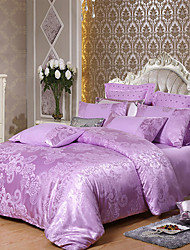 Недорогие -в европейском стиле жаккардовый сатин из четырех частей одеяло 1,5 м 1,8 м 2 очень большой односпальной кроватью