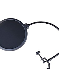 cheap -Microphone Pop Filter With 360° Gooseneck Clip Stabilizing Arm NT-09 for Studio Recording & Broadcasting Microphone