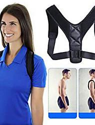 cheap -Brace Support Belt Adjustable Back Posture Corrector Clavicle Spine Back Shoulder Lumbar Posture Correction