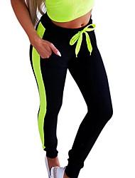 cheap -Women's Basic Loose Chinos Pants - Multi Color White Blushing Pink Green S / M / L