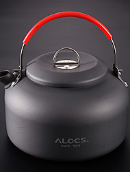 cheap -ALOCS Camping Kettle Teapot Portable Aluminium for Outdoor Camping / Hiking Outdoor Picnic