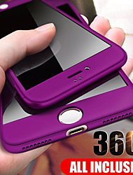 cheap -360 Degree Full Cover Phone Case For iPhone SE 2020 / 11 / 11 Pro 11Pro Max / X / XS / XR / XS Max PC Hard Shell Protective Case For iPhone 8Plus / 8 / 7 Plus / 7 / 6Plus / 6 Case
