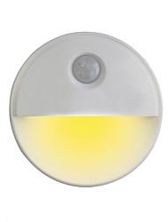Недорогие -Oval Shape Сенсорная лампа Светодиодный ночник Датчик человеческого тела Датчик тела Хэллоуин / Рождество Аккумуляторы AAA 1шт
