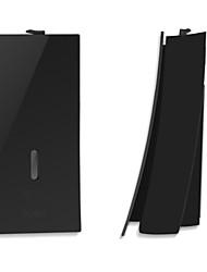 Недорогие -дозатор мыла новый дизайн / холодный матовый черный / ограничение abs 1шт настенный кнопочный автомат для мытья рук дезинфицирующее средство