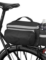 Недорогие -ROSWHEEL 10 L Сумки на багажник велосипеда Водонепроницаемость Пригодно для носки Ударопрочность Велосумка/бардачок Ткань Полиэстер ПВХ Велосумка/бардачок Велосумка Велосипедный спорт / Велоспорт