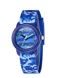 cheap -Kids Sport Watch Quartz 30 m Water Resistant / Waterproof Day Date Analog Cartoon Fashion - Blue One Year Battery Life