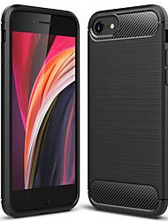 Недорогие -чехол для телефона asling для Apple iPhone 7/8 / Iphone SE (2020) пылезащитный задняя крышка сплошного цвета ТПУ