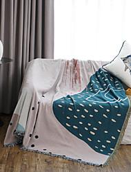 Недорогие -мягкие одеяла одеяла кровать диван бросает диван кресло полотенце многофункциональный для домашнего декора офисных поездок