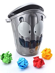 cheap -Throwing Toy Crazy Trash Can toy Move Sundries Bucket Stress Reliever Creative Soft Plastic For Teenager Adults' Women Boys and Girls Office