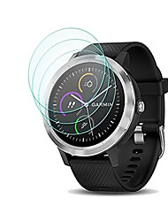 cheap -3Pcs For Garmin Vivoactive 3 / Vivoactive 3 trainer Tempered Glass Screen Protector 9H Hardness