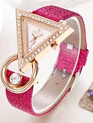 cheap -Women's Bracelet Watch Quartz Watches Analog Quartz Stylish Casual Casual Watch / One Year / PU Leather