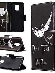 cheap -Case For Xiaomi Redmi Note 8T/Redmi Note 9 Pro Max/CC9 Pro Wallet / Card Holder / with Stand Full Body Cases Word / Phrase PU Leather For Xiaomi Note 10 Pro/Redmi 8/8A/K30/Note 9S/K20/Redmi Note 8 Pro