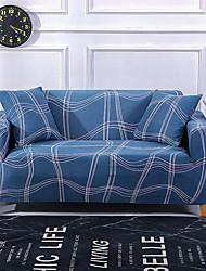 Недорогие -Обложка дивана линии печати пылезащитный всесильный чехлы эластичный чехол для дивана супер мягкая ткань чехла с одной бесплатной наволочкой