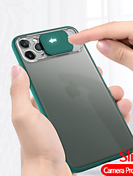 cheap -Camera Protection Phone Case For Apple iphone 11 Pro Max SE 2020 XS Max XR X 8 Plus 7 Plus 6 Plus Translucent Frosted Hard PC Back Cover For iphone SE 2020 Soft TPU Edge Protect Shockproof Case