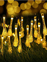 cheap -20 0LEDs Outdoor Waterproof Solar String Light Fairy Lights Decoration for Christmas Garden Party Lighting