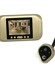 cheap -720 HD Electronic Cat's Eye Smart Wired Video Doorbell Camera