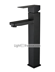 cheap -Stainless steel black basin faucet hot and cold basin wash basin European bathroom black faucet