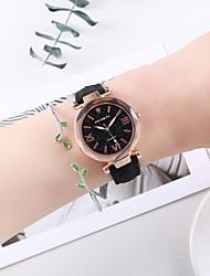 cheap -Women's Bracelet Watch Quartz Watches Quartz Fashion Chronograph Analog Black / One Year / PU Leather / One Year