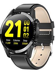 Недорогие -L13C умные часы Mtk2502 SmartWatch мужчины женщины ЭКГ монитор сердечного ритма артериальное давление кислорода длительным временем ожидания водонепроницаемый ip68 часы