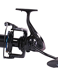 cheap -Fishing Reel Spinning Reel 4.1:1 Gear Ratio+13 Ball Bearings Hand Orientation Exchangable Sea Fishing / Spinning / Jigging Fishing