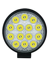 cheap -42W 6000K IP68 Round LED Work Spot Light Driving Lamp Car Truck SUV ATV 12V 24V