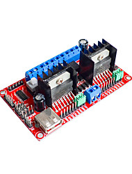 cheap -L298N V3/ Four Dc Stepper Motor Drive Module Drive Power Supply Integrated WIFI Car Drive Board