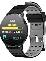 cheap -T8 Unisex Smart Wristbands Android iOS Bluetooth Touch Screen Heart Rate Monitor Blood Pressure Measurement Sports Calories Burned Stopwatch Pedometer Call Reminder Activity Tracker Sleep Tracker