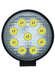 cheap -27W 9 LED Work Spot Light Round Lamp SUV Car Truck Van Boat 4WD ATV UTV