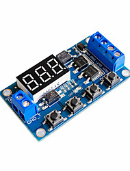 cheap -Trigger Cycle Timer Delay Switch 12 24V Circuit Board MOS Tube Control Module
