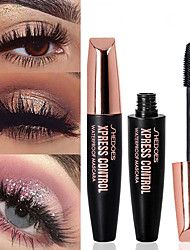 cheap -Mascara Waterproof / Easy to Carry / Pro Makeup Mixed Material Stick Health&Beauty / Mascara Fashion Daily / Office & Career Daily Makeup / Halloween Makeup / Party Makeup Fast Dry Curly Convenient