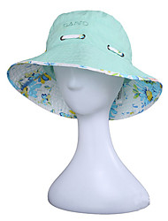cheap -Sun Hat Hiking Hat Hat 1 pc Sunscreen UV Resistant Breathable Quick Dry Cotton Summer for Women's Camping / Hiking Hunting Climbing Yellow Green Amethyst / Lightweight Materials