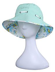 Недорогие -Шляпа от солнца Шляпа для туризма и прогулок Кепка 1 ед. Защита от солнечных лучей Устойчивость к УФ Дышащий Быстровысыхающий Хлопок Лето для Жен. Отдых и Туризм Охота Восхождение / Легкие материалы