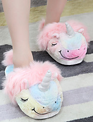 cheap -Kid's Adults' Kigurumi Pajamas Slippers Flying Horse Onesie Pajamas Flannel Fabric Pink Cosplay For Men and Women Boys and Girls Animal Sleepwear Cartoon Festival / Holiday Costumes