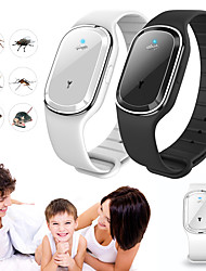 cheap -Ultrasonic Natural Mosquito Repellent Bracelet Waterproof Capsule Pest Insect Bugs Anti Mosquito Insect Bands Outdoor Kids Adult