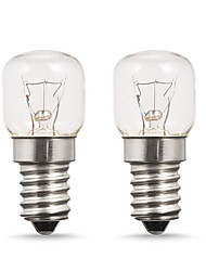 Недорогие -2 шт. E14 220 В-240 В 15 Вт высокая температура 300 градусов по Цельсию духовка тостер / паровые лампочки вытяжка лампы лампы микроволновой печи вольфрамовые лампы