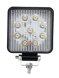 cheap -27W LED Square Work Light Spot Flood Off-road Driving Lamp SUV Truck UTV