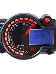 cheap -Adjustable Motorcycle Digital Speedometer LCD Digital Odometer