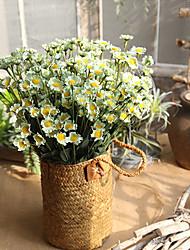 Недорогие -42см pe пена маленькая ромашка имитация букет цветов 15 поддельные украшения головы венок ручной работы 1stick