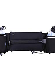 Недорогие -Универсальные Молнии Нейлон Поясная сумка Контрастных цветов Пурпурный / Зеленый / Синий