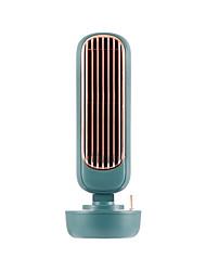 Недорогие -5 Вт ретро электрический вентилятор увлажнитель башни вентилятор 3geges регулировки по времени USB зарядки рабочего стола USB увлажнитель вентилятор 220 мл бак для воды