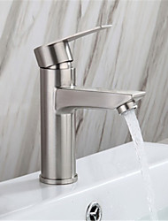 cheap -304 stainless steel hot and cold basin faucet wash basin faucet under counter basin faucet 304 single hole hot and cold