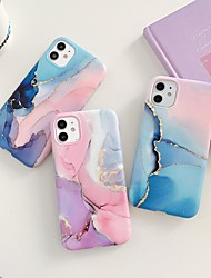 cheap -Case for Apple scene map iPhone 11 11 Pro 11 Pro Max X XS XR XS Max 8 Colorful marble pattern fine matte TPU material IMD process all-inclusive mobile phone case LX