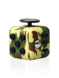 cheap -Speed Cube Set 1 pcs Magic Cube IQ Cube Fidget Desk Toy Fidget Cube Puzzle Cube for Killing Time Stress and Anxiety Relief Focus Toy Kid's Toy Gift