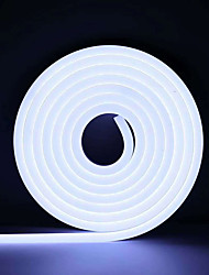 cheap -3m Neon Strip Lights 360 LEDs 2835 SMD 6mm 1pc Warm White White Red Halloween Christmas Waterproof Cuttable Decorative 12 V