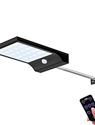 Недорогие -48 светодиодные 450lm солнечная лампа человеческого тела индукции настенный светильник 3 режима затемнения открытый сад двор дорожка лампа с дистанционным управлением