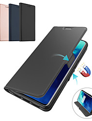 cheap -Leather Flip Stand Magnetic Wallet Cover Phone Case For OnePlus 8 Pro OnePlus 7 Pro One Plus 7T Pro OnePlus 6T One Plus 6 Case Card Slot