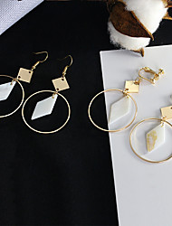 cheap -Women's Earrings Holiday Wedding Birthday Romantic Earrings Jewelry Yellow / Gold For Date Street Festival 1 Pair